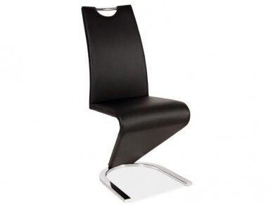 Kėdė H-090 chromo rėmas 4