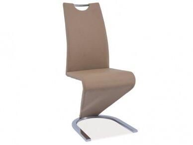 Kėdė H-090 chromo rėmas 5