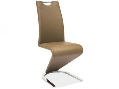 Kėdė H-090 chromo rėmas 6