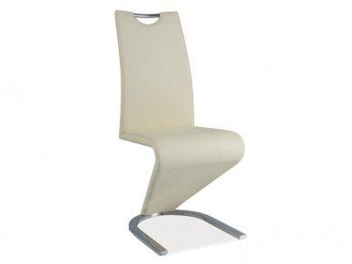 Kėdė H-090 chromo rėmas 7