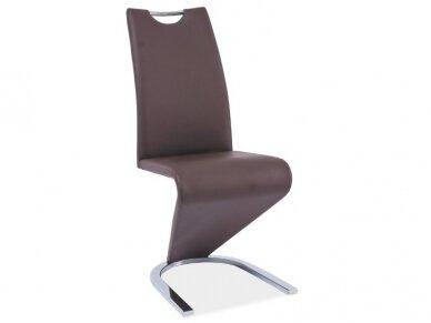 Kėdė H-090 chromo rėmas 8