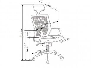 biuro kėdė ACAPULCO