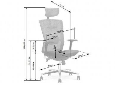 biuro kėdė AMBASADOR 2