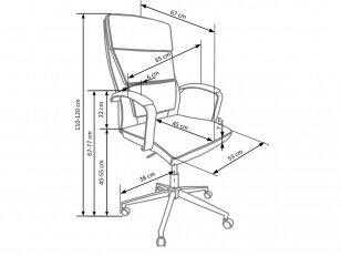biuro kėdė AURELIUS