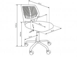 Biuro kėdė BALI 2