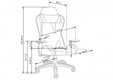 Biuro kėdė VB 5