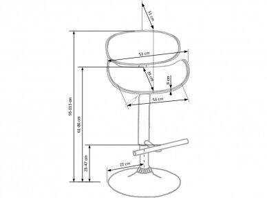 Baro kėdė H-44 3