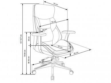 biuro kėdė IMPERATOR 2