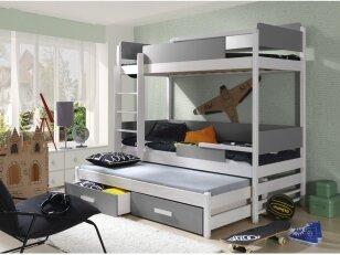 Dviaukštė lova QUATRO