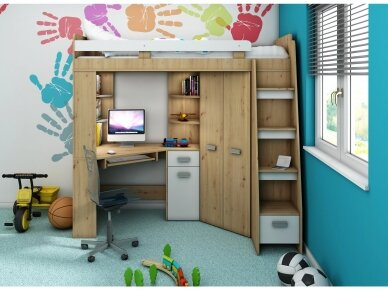Vaiko kambario komplektas Antresola 30
