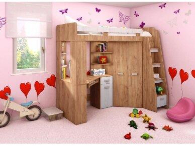 Vaiko kambario komplektas Antresola 37