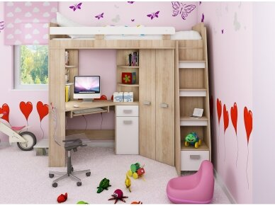 Vaiko kambario komplektas Antresola 12