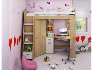 Vaiko kambario komplektas Antresola 27