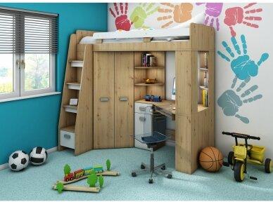 Vaiko kambario komplektas Antresola 28