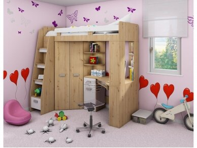 Vaiko kambario komplektas Antresola 29