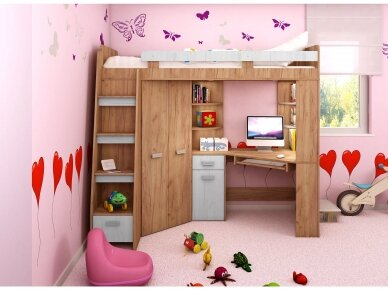 Vaiko kambario komplektas Antresola 34