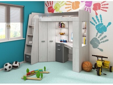 Vaiko kambario komplektas Antresola 3