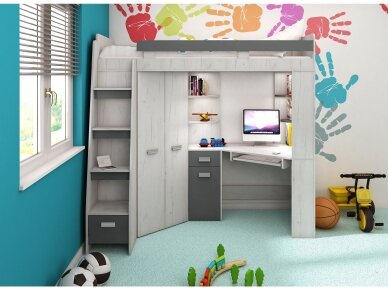 Vaiko kambario komplektas Antresola 2