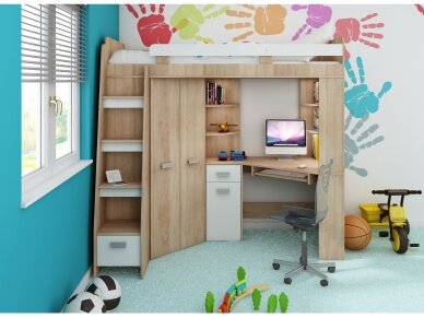 Vaiko kambario komplektas Antresola 7