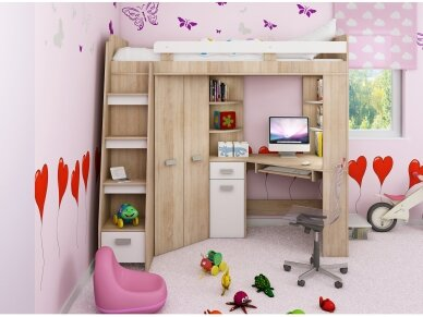 Vaiko kambario komplektas Antresola 8