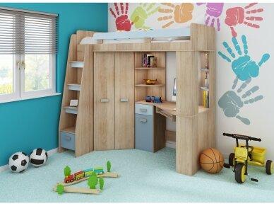 Vaiko kambario komplektas Antresola 23