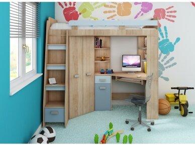 Vaiko kambario komplektas Antresola 22