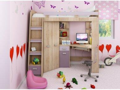 Vaiko kambario komplektas Antresola 16