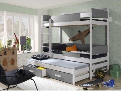 Dviaukštė lova QUATRO 4