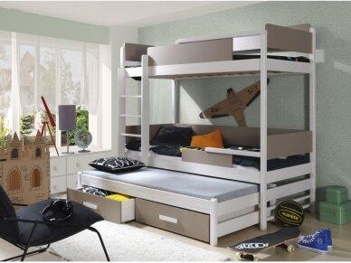 Dviaukštė lova QUATRO 5