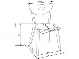 Darbo kėdė PEPPI