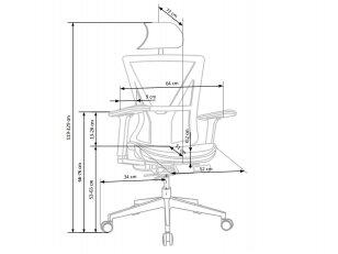 biuro kėdė PRINCE