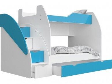 Dviaukštė lova Zuzia 10