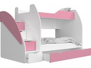 Dviaukštė lova Zuzia 11