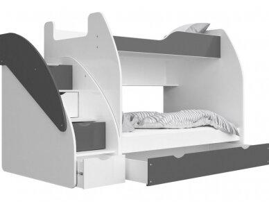 Dviaukštė lova Zuzia 7