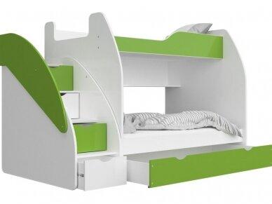 Dviaukštė lova Zuzia 9