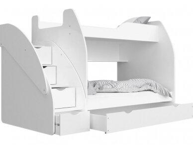 Dviaukštė lova Zuzia 8