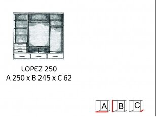 Spinta LOPEZ 250