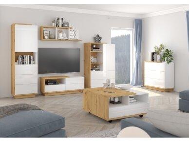 Svetainės baldų Komplektas Hybrid 1 3