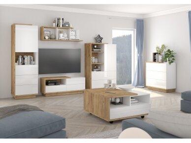 Svetainės baldų Komplektas Hybrid 1 4