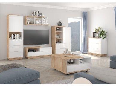 Svetainės baldų Komplektas Hybrid 1 2