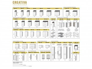 Virtuvės komplektas Creativio 2