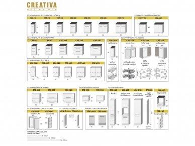 Virtuvės komplektas Creativio 3 4